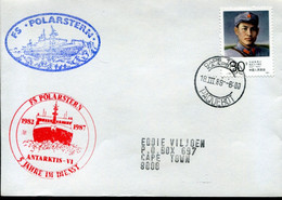 China Special Cover - Polarstern, Paquebot Cape Town South Africa - Antarctic Expeditions