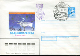 Russia Special Cover - Arctic Fauna - Arctic Wildlife