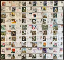 France - Premier Jour - Lot De 60 FDC - Thématique Divers - 1962 - 1960-1969