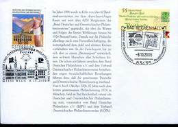 Germany Austria Special Cover - Stamp Exhibition, Stamp Day Bad Reichenhall - Esposizioni Filateliche