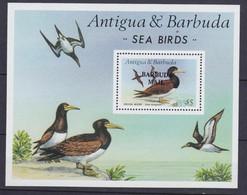 BARBUDA 1987, Mi# Bl 122, CV €80, Birds, MNH - Antigua And Barbuda (1981-...)