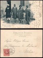 "Melilla - Edi O TP 243 - 1903 - Postal ""Melilla"" - Mat ""Melilla 24/3/03"" A Milán - Cartas"