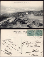 """Melilla - Edi O TP 268 Pareja - Postal """"Barrio Tesorillo"""" Mat """"Melilla 8/1/15"""" A Italia - Cartas"""