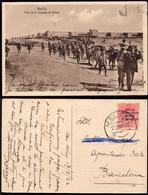 """Melilla - Edi Marruecos O TP 60 - 1922 - Postal """"Alcazaba De Zeluán"""" Fechada En Dar Drius Mat """"Melilla 20/3/22"""" - Cartas"""