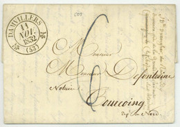 DAMVILLERS 1832 Pour Tourcoing - 1801-1848: Precursors XIX