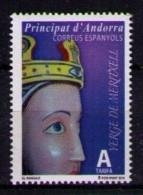 ANDORRA ESPAÑOLA 2015 - VIRGEN DE MERITXELL - 1 SELLO - Neufs