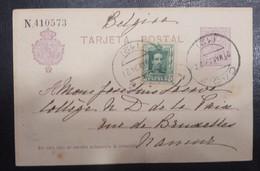 1924.- CÁDIZ A BRUSELAS (BÉLGICA). - Cartas