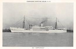 "S.S. ""Léopoldville"" - Cie Maritime Belge - Piroscafi"