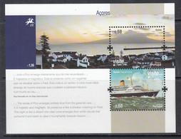 2012 Azores Acores Visit Tourism Europa CEPT  Ships Harbour Souvenir Sheet MNH @ BELOW FACE VALUE - 2012