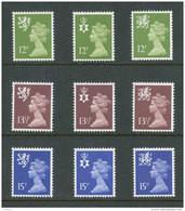 GRANDE-BRETAGNE - 1980 - REGIONAUX - NEUFS ** LUXE/MNH - Yvert # 941/949 - Série Complète 9 Valeurs - Non Classés