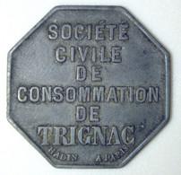 Trignac - Société Civile De Consommation - 5 F - Monetary / Of Necessity