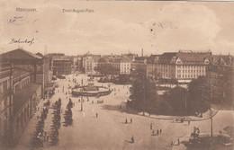 5668) HANNOVER - Ernst August Platz - Tolle Details SEHR ALT !! 18.09.1913 !! - Hannover