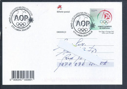 Postal Stationery Of Olympic Games With Obliteration Of 'Sport In Age Of Covid 19'. Tokyo 2020 Olympics. Covid 19 - Summer 2020: Tokyo