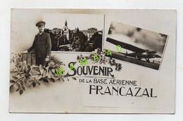 31 - TOULOUSE - SOUVENIR DE LA BASE AERIENNE FRANCAZAL - MILITAIRE DE L'ARMEE DE L'AIR - AVION BOMBARDIER - Toulouse