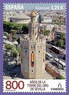 España. Spain. 2021. 800 Años De La Torre Del Oro. Sevilla - 2011-... Nuevos & Fijasellos