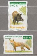 ANIMALS 2008 Andorra MNH(**) #28573 - Ohne Zuordnung