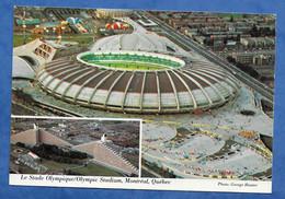 CPM Stade Foot Olympic Stadium Montréal Québec Multivues Et Vue Aérienne Photo  George Hunster - Stadiums