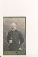 CDV PHOTO Foto Marin Militaire ? Morskoy Voyennyy ? Russkiy Russie Russia Photographe à Identifier à Saint Petersbourg ? - Old (before 1900)