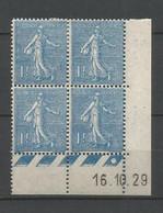 Coins Datés De France Neuf *  N 205  Année 1929  Charnière En Haut - ....-1929