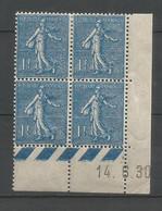 Coins Datés De France Neuf *  N 205  Année 1930  Charnière En Haut - ....-1929
