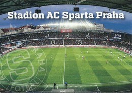 STADIUM POSTCARD ESTADIO STADION STADE STADIO CAMPO DE FUTBOL PRAHA - Stadi
