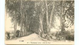 01* THOISSEY  Allee Du Port - Andere Gemeenten