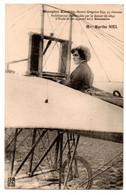 Aviateurs - Aviation - Monoplan Koechlin - Moteur Gregoire  Gyp - Mlle Marthe Niel - CPA ° - Aviadores