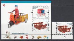2015 Azores Acores Children's Toys   Complete Set Of 1 + Souvenir Sheet MNH @ BELOW FACE VALUE - 2015