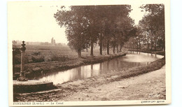 71* FONTAINES   Le Canal - Andere Gemeenten