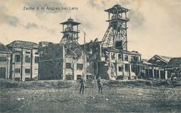 62) ANGRES : Mine - Fosse - Zeche 6 In Angres Bei LENS - Carte Allemande Ww1 (EB) - Other Municipalities