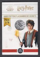 France - Pièce De 10 Euros Argent - Harry Potter Et La Chambre Des Secrets - N°3 - France