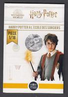 France - Pièce De 10 Euros Argent - Harry Potter à L'école Des Sorciers - N°1 - France