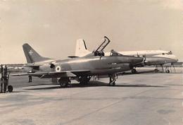 """2184""""FOTO-  FIAT G 91  CON QUADRIMOTORE AGUSTA A 88(PROTOTIPO) POZZUOLI  CAPODICHINO""""  ANNI 60 - Aviation"""