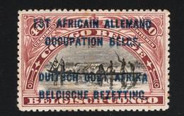 1916 German East Africa Belgian Occupation Mi DR-OA OC5 Yt RW-U 32 Sg RW-U 19 Bel RW-U 32B O. Gummierung Without Gum (x) - 1916-22: Mint/hinged