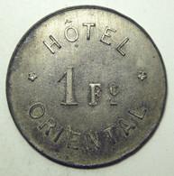 Hôtel Oriental - 1 Franc - Noodgeld