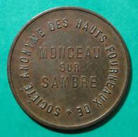 Hauts-Fourneaux De Monceau -sur-Sambre - Valeur 8 - Monetari / Di Necessità
