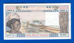 Cote  D'ivoire  5.000 Fr  Neuf  Sig  14 - Ivoorkust