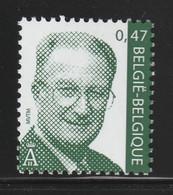 BELGIUM 2002 Definitive/King Albert II EUR0.47: Single Stamp UM/MNH - 1993-.. MVTM
