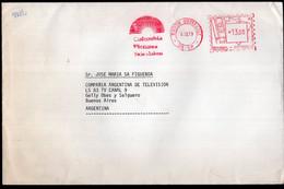 Brasul - 1979 - Lettre - Air Mail - Columbia Pictures Television - Envoyé En Argentina - A1RR2 - Lettres & Documents