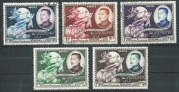 Laos YT N°18/22 Union Postale Universelle Oblitéré ° - Laos
