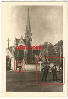 WW2 RARE PHOTO ORIGINALE Soldats Allemands à GOUESNOU P. Saint Renan Brest 29 FINISTERE BRETAGNE N°1 - 1939-45