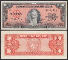 Kuba - Cuba 100 Peso 1959 Pick 93 VF (3)    (25728 - Other - America