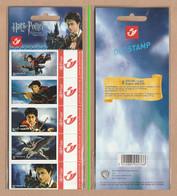 BELGIUM 2005 Duostamps/Harry Potter: Strip Of 5 Stamps UM/MNH - Timbres Personnalisés