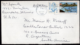 USA - 1988 - Letter - Special Postmark - Sent To Argentina - A1RR2 - Brieven En Documenten