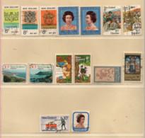 Neuseeland 1977 Siehe Bild/Beschreibung 15 Marken Gestempelt; New Zealand Used - Gebraucht