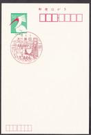 Japan Scenic Postmark, Deer Bridge Rowing (js4041) - Other