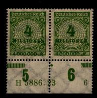 DEUTSCHES REICH 1923 Nr 316 Mit Hausauftragsnummer (94682) - Unclassified