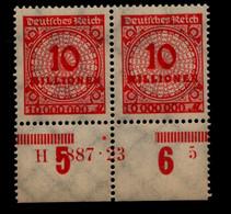 DEUTSCHES REICH 1923 Nr 318 Mit Hausauftragsnummer (94685) - Unclassified