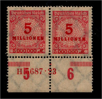 DEUTSCHES REICH 1923 Nr 317 Mit Hausauftragsnummer (94683) - Unclassified