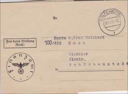 Finanzamt 1941 Wolfenbüttel Nach Schöppenstedt - Non Classificati